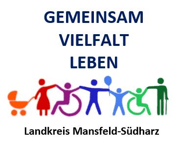 Das Logo des Örtlichen Teilhabemanagements Mansfeld-Südharz