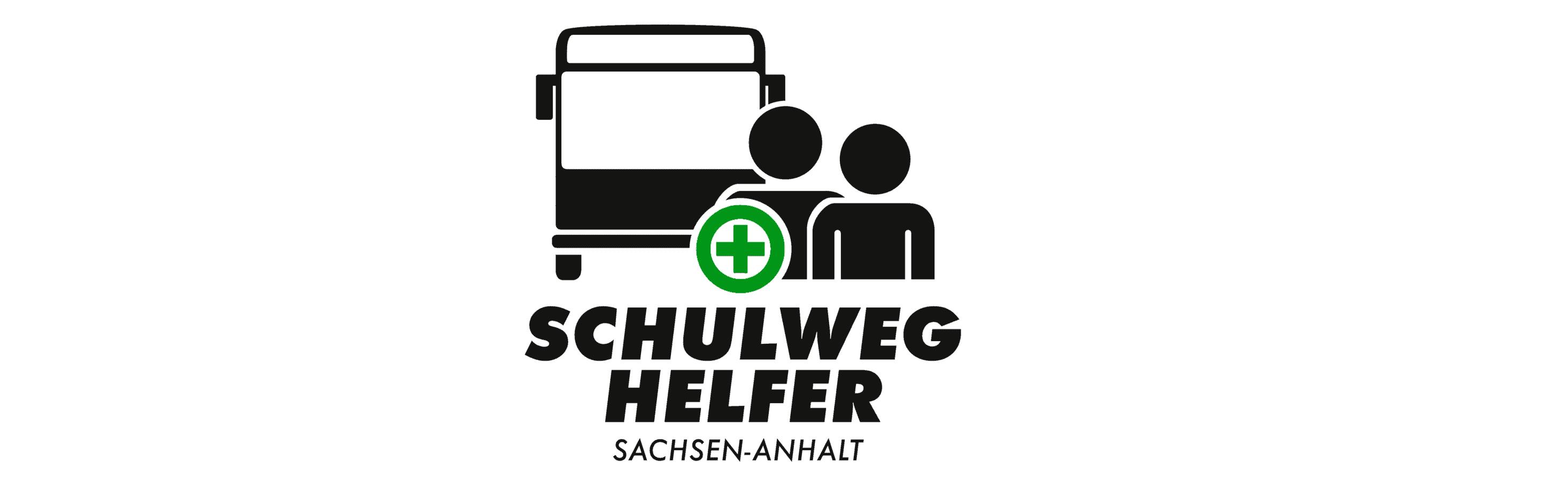 """Das Logo vom Projekt """"Schulweghelfer"""" in Sachsen-Anhalt"""