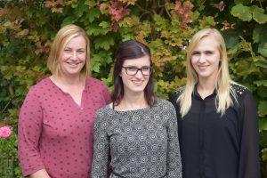 Die Mitarbeiterinnen vom Teilhabemanagement Mansfeld-Südharz