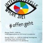 Flyer von der Interkulturellen Woche